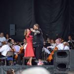 Margareta Melz och Rickard Söderberg på Stadsfesten 2017